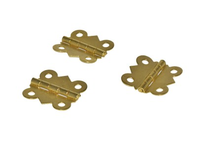 Brass Butterfly Hinges 1-1/4'' (50 pcs)