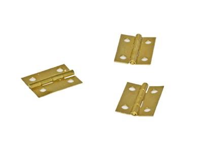 Brass Box Hinges 1'' (50 pcs)