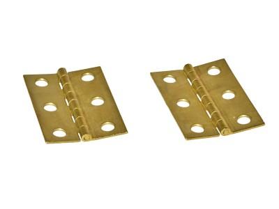 Brass Box Hinges 2'' (50 pcs)