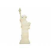 Statue of Liberty Plywood Cut Out (Lot of 10)