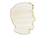 Honest Abe Plywood Cut Out (Lot of 10)