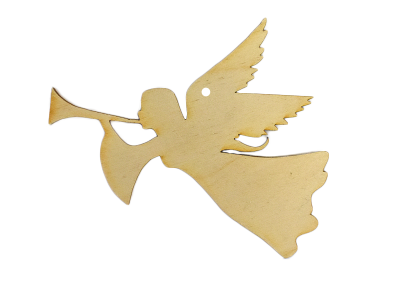 Angel w/ Trumpet Ornament (Lot of 10)
