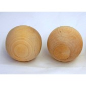 2-3/4'' Round Wooden Ball (Sold Individually)
