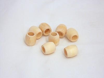 Barrel Beads 1105 - 3/8'' (100 pcs)