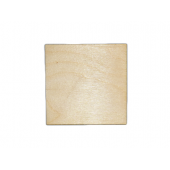4'' Plywood Squares  w/rounded Corners (5 pcs)