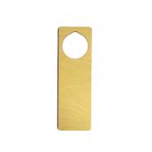 9'' Laser Cut Plywood Door Hangers (5 pieces)