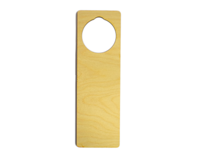 9'' Laser Cut Plywood Door Hangers (5 pieces)