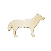 Laser Cut Plywood Dogs (5 Pieces)