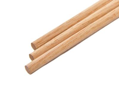 1/4'' x 36'' Wooden Oak Dowels (25 pcs)
