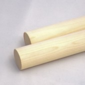 1/8'' x 48'' Wooden Birch Dowel (100 pcs)
