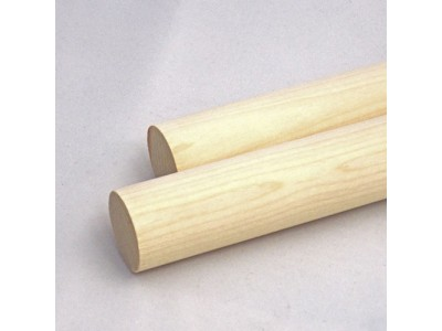 3/8'' x 12'' Wooden Birch Dowels (50 pcs)