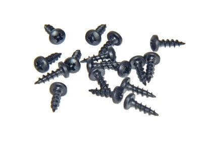 #6 x 5/8'' Black Hinge Screws (100 pcs)