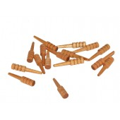 Cribbage Pegs w/ Clear Varnish (100 pcs)