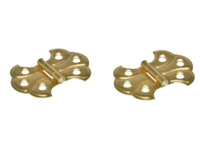 Decorative Brass Butterfly Hinges 2'' (50 pcs)