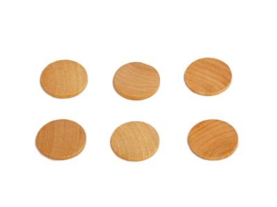 Wooden Discs 1-1/8'' (50 pcs)