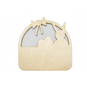 Laser Cut Plywood Easter Basket (5 Pieces)