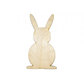 Laser Cut Plywood Easter Bunny / Bunnies Shapes (5 Pieces)