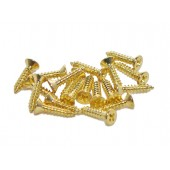 #5 x 5/8'' Brass Flat Head Screw (100 pcs)