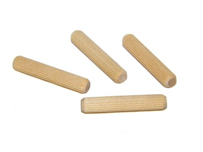 1/2 x 4'' Fluted Dowel Pins (100 pcs)