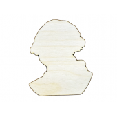 George Washington Plywood Cut Out (Lot of 10)