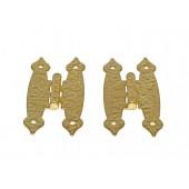 3-1/2'' Polished Brass Hammercraft Hinges (50 pcs)