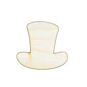Uncle Sam's Hat Plywood Cut Out (Lot of 10)