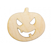 Jack-O'-Lantern Plywood Cut Out (Lot of 10)