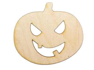 Jack-O'-Lantern Plywood Cut Out (Lot of 10)