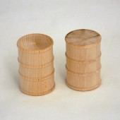 Wooden Oil Drums 1-1/8'' x 1-5/8''  (50 pcs)