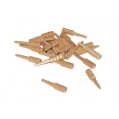 Unfinished Cribbage Pegs (100 pcs)
