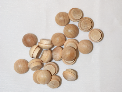 Mushroom Buttons 1'' (25 pcs)