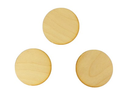 1-1/2'' Plywood Circles (100 pcs)