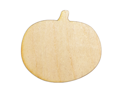 Pumpkin Style #2 Plywood Cut Out (Lot of 10)