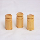 Wooden Milk Cans 7/8'' x 1-3/4'' (50 pcs)