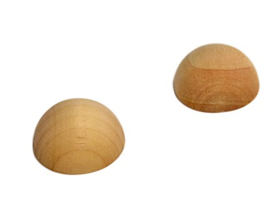 1-1/2'' Split Wooden Balls (25 pcs)