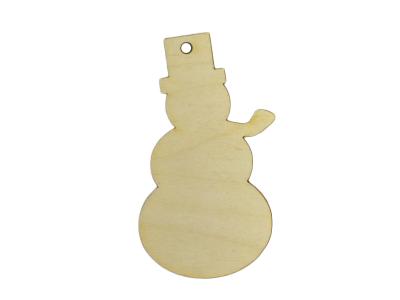 Snowman w/Hat Ornament (Lot of 10)