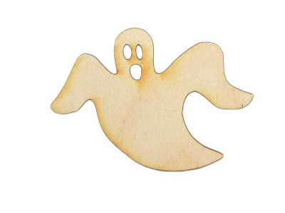 Spooky Ghost Plywood Cut Out (Lot of 10)