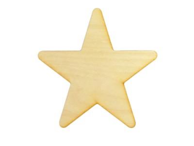 4'' Laser Cut Stars (10 pcs)