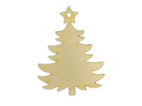 Tree w/Star Ornament (Lot of 10)